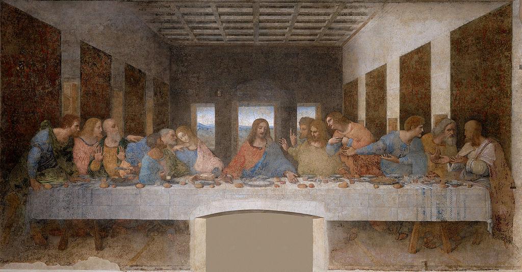 列奥纳多·达·芬奇之作——《最后的晚餐》