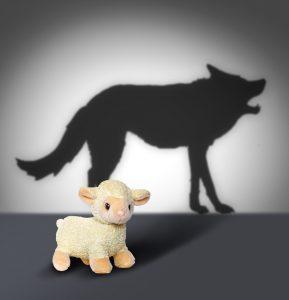 末日猖獗披着羊皮的狼一般的假先知。